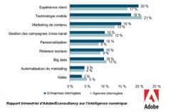 tendances marketing 2014,expèrience client,marketing mobile,contenus,content marketing,publicité temps réelle,réseaux sociaux,médias sociaux